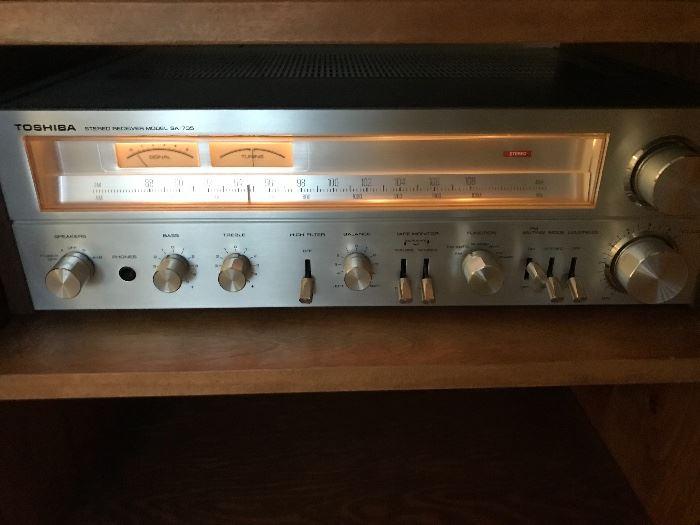 Toshiba receiver Model SA-735 stereo