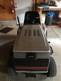 "Craftsman riding lawnmower 18hp, 6 speed, 44"""