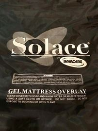 Solace by Invacare Gel Mattress Overlay