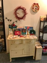 Antique Wash Stand, Childrens Christmas Books