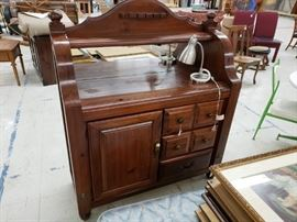 "Vintage Buffet, Singer Furniture Company ""Paul Bunyan Collection"""