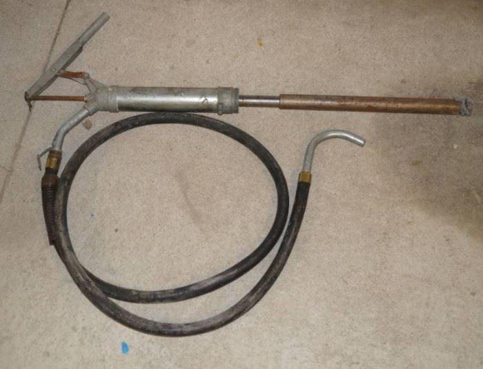 Barrel Pump with Hose