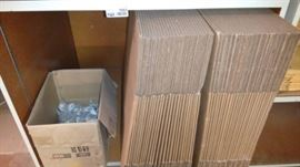 Lot of Unused boxes and Nylon Rope