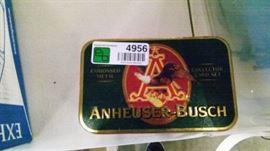 AnheuserBush Collector Card Set