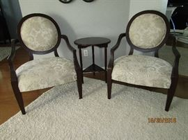 MATCHING SIDE CHAIRS 28X25X39