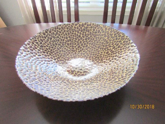 GORGEOUS LEOPARD SPOTTED BOWL..