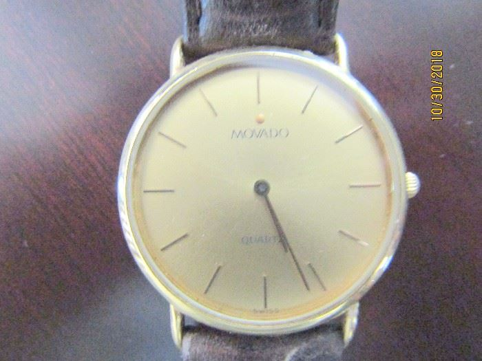 MOVADO.. A VERY CONTEMPORARY WATCH..ONE THAT COULD BE WORN DAILY