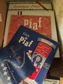 Edith Piaf records