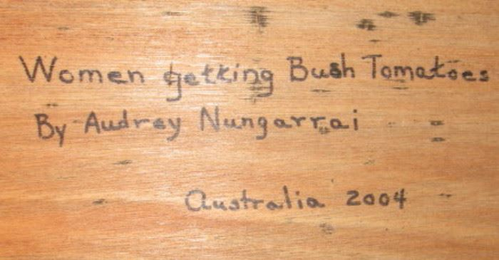 Audry Nungarrai Painting2