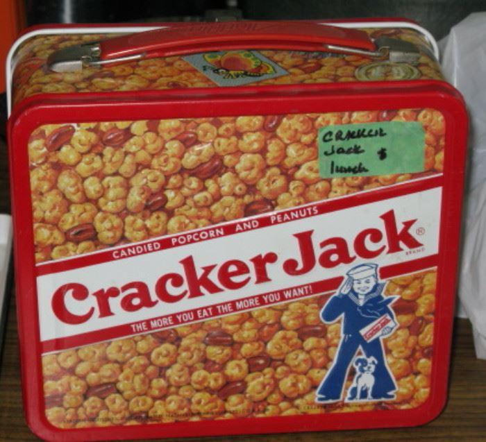 Vintage Cracker Jack Lunch Box