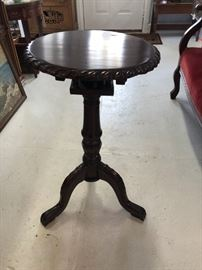 Antique Tilt-Top Table