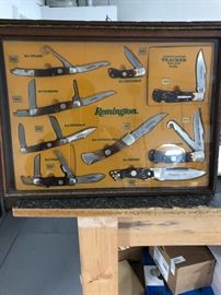 1990's Remington Knife Display