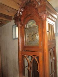 Hershedes  tall grandfather clock belt driven and bellows