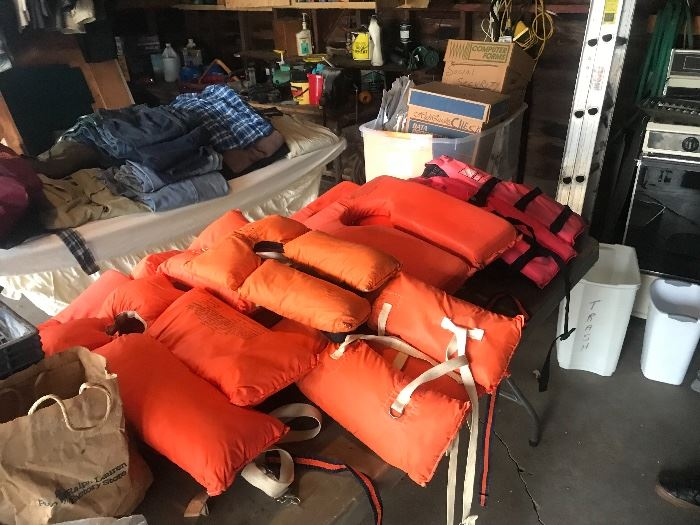 Boating life Jackets
