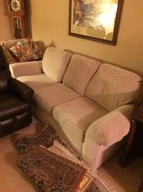 Cloth sofa sleeper with matching  love seat sofa sleeper
