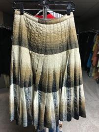 1950's pleated skirt