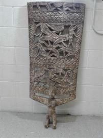 African Senufo Wooden Door