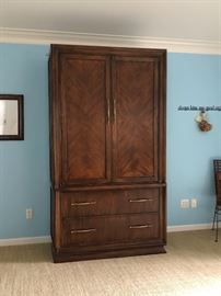 Hickory White brand armoire.