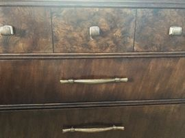 Hickory White Side Dresser. Part of the bedroom set. Beautiful, high quality.