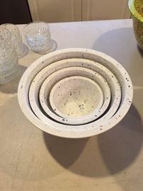 Set of Zak Confetti Mixing Bowls