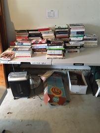 More Books and Shredder