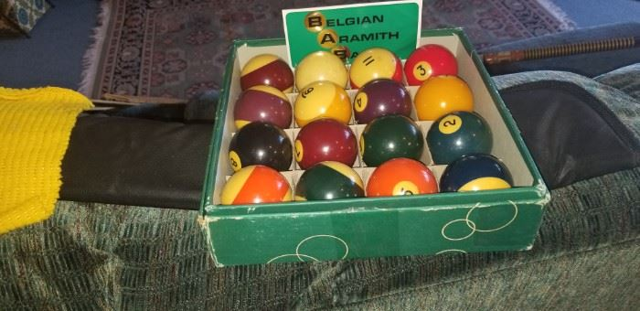 Collectible Billiards Balls