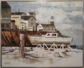 Lee Reynolds painting