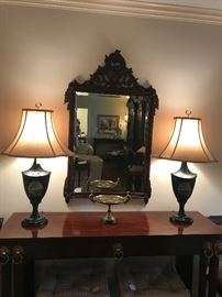 Carolina Mirror Company and Maitland-Smith Lamps
