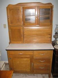 Hoosier style kitchen cupboard