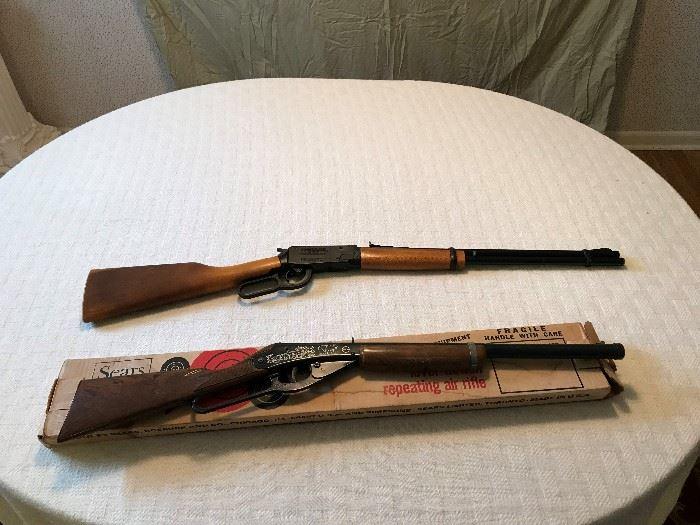 Winchester and Sears BB Gun