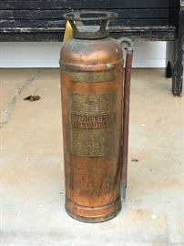Red Star Fire Extinguisher