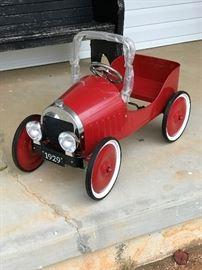 New Peddle Car