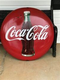 36 inch Porcelain Coke Button