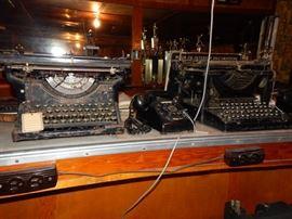 1 typewriter is sold