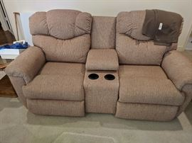 La-Z-Boy loveseat with dual recliners