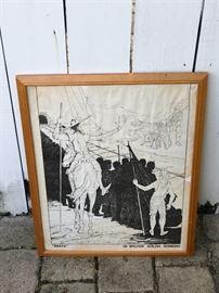 Bolivian Artist Walter Solon Romero Print