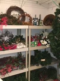 Christmas Garlands, Wreaths, Decor