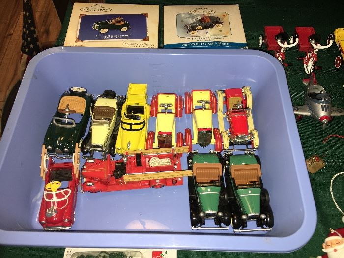 Retired Hallmark Car Series