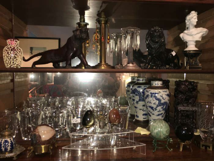 Japanese Bronze Lion, & Tiger. and more !!