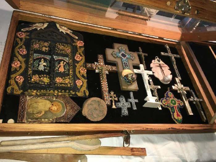 Spanish Colonial Crosses etc.
