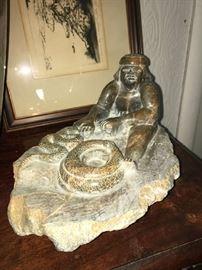 Tafoya Soapstone Sculpture