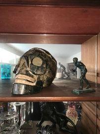 Wood Skull