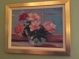Painting of still life.