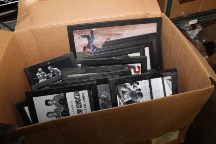 1 A Lot of Vintage Pictures in Black Frames