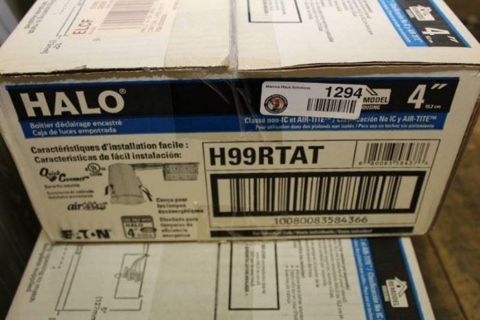Halo 4 inch Recess Light H99RTAT Case.
