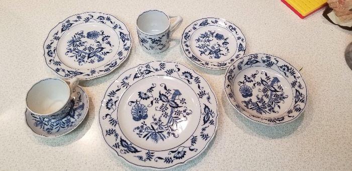 Blue Danube dinnerware service for 12