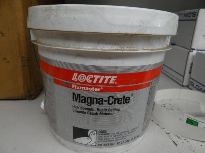 New Loctite  Magna Crete.