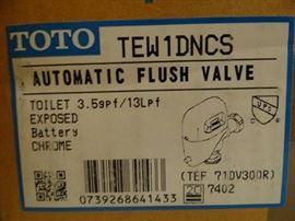 New in box Toto Automatic Flush Valve...