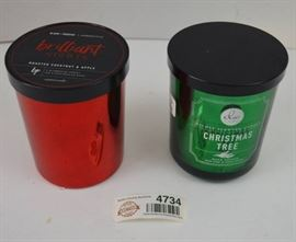 2 New Candles 1 DW Home Christmas Tree Scent, 1 ...