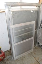 1Storm Window 28 W x 39.5T, 3 Storm Windows 36 ...